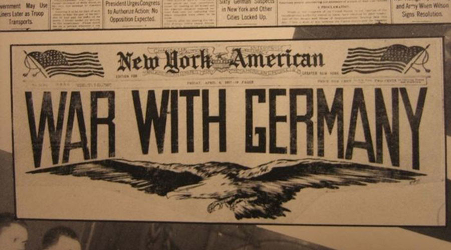 'War with Germany': US enters WW1 on this day in 1917