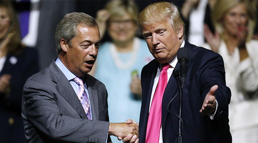 Nigel Farage turns on ally Donald Trump after US missile strike on Syria