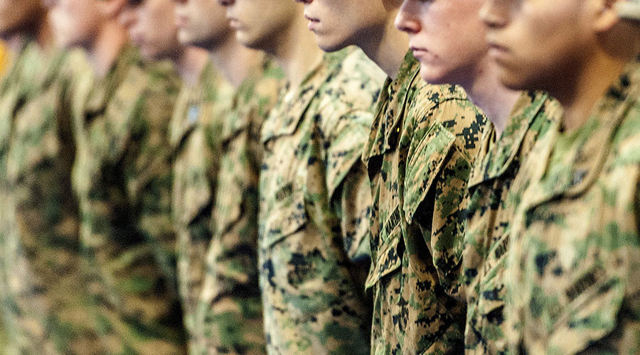 Be less masculine: Report tells military sexual harassment undermines combat readiness