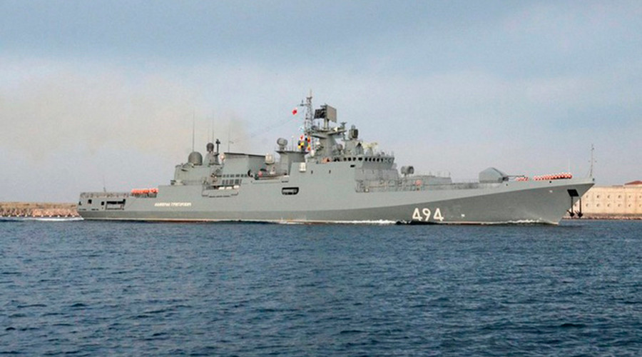 Russian missile frigate returns to Mediterranean