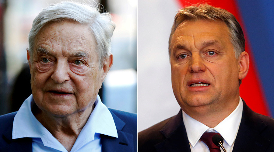 George Soros and Viktor Orbán go to war in Budapest