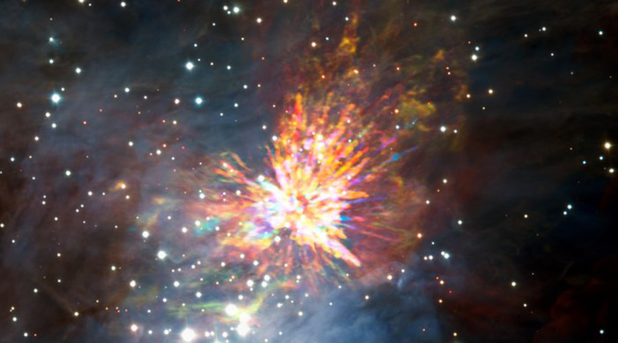 Twinkle, twinkle exploding star: Epic star birth captured in spectacular images