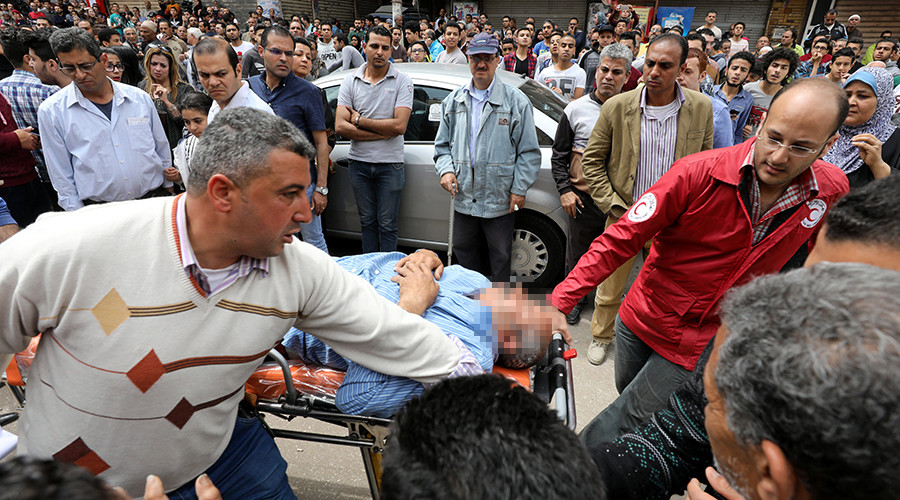 At least 44 killed in Egypt church bombings on Palm Sunday, ISIS claims responsibility