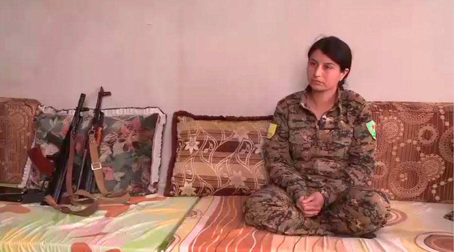 'All massacres being committed by ISIS' - Kurdish paramilitary commander fighting for Raqqa to RT