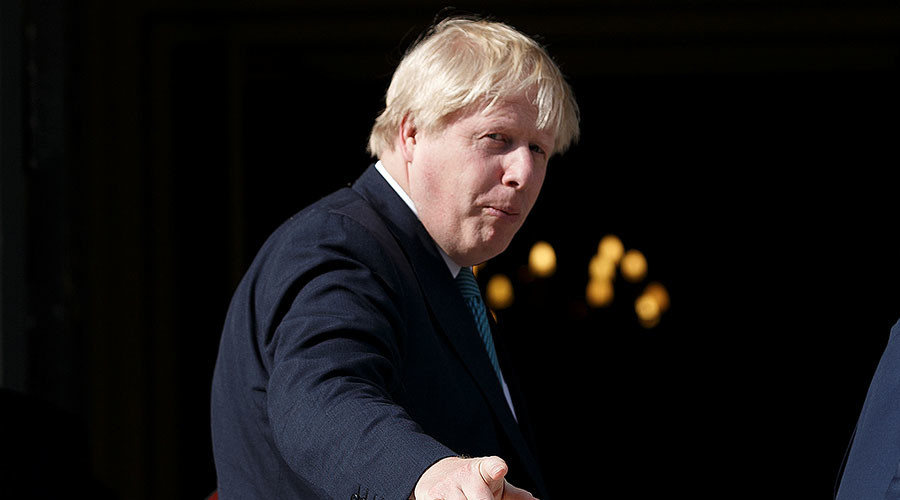 Boris Johnson can't go to Moscow until Washington's instructions are clear