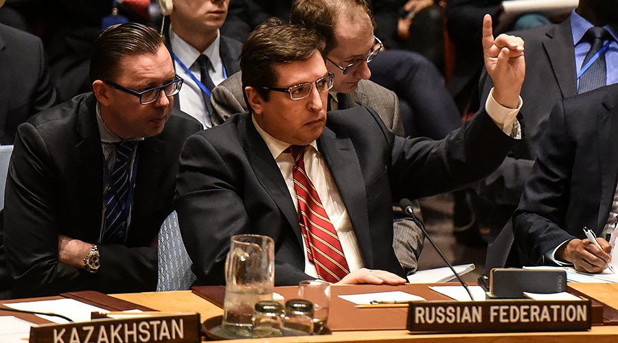 'Don't you dare insult Russia!': Moscow envoy chides UK counterpart at UNSC meeting