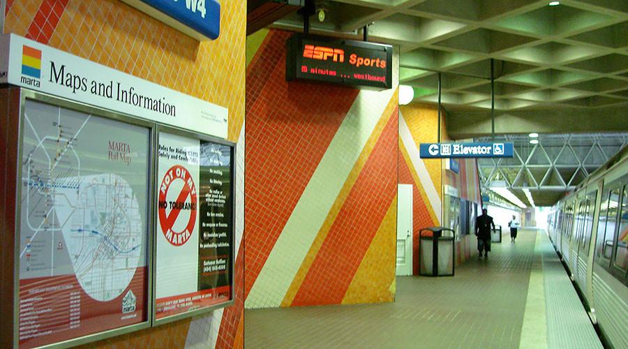 1 killed, 3 injured in shooting aboard Atlanta metro train, suspect detained
