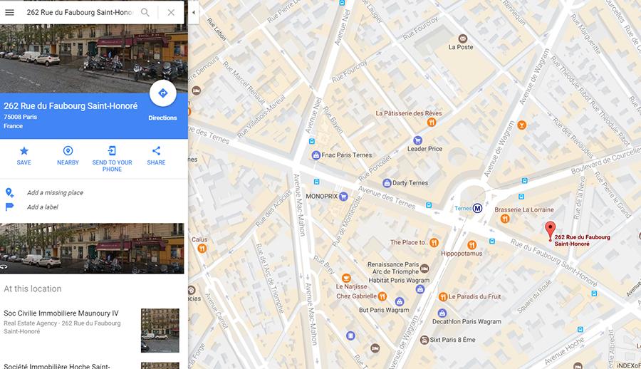 Google Maps puts Marine Le Pen in presidential Elysee Palace ... on rainy paris, instagram paris, euro disney paris, new years eve paris, avenue foch paris, vikings paris, mapquest paris, world maps paris, google street view paris, europe paris, google earth paris, you tube paris, google earth street view, left bank paris, google philips empire state building, google paris france, google map hollywood ca,