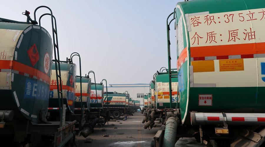 China overtakes US to become world's top crude importer