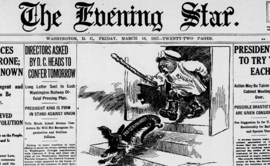 'Amazing news from Petrograd': Western press' caustic reaction to abdication of Tsar Nicholas II