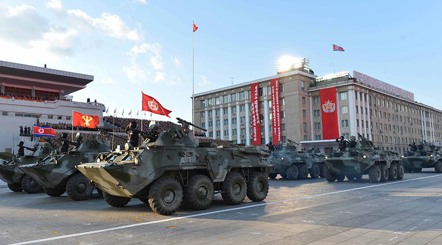 N. Korea blasts US 'military hysteria & aggression' in Syria, vows to mercilessly foil provocations