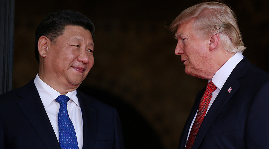 Trump: China working with US on N.Korean problem