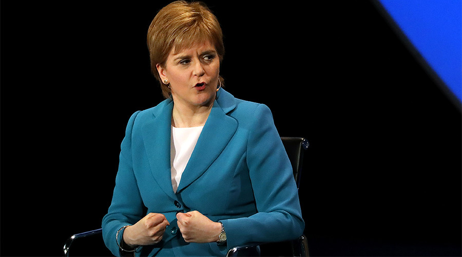 Snap general election aimed at pushing Britain to the right, says angry Scottish leader Sturgeon