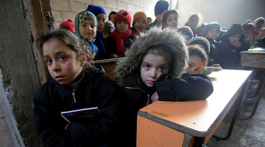 Syrian kids pay 'highest price for war not of their making' – UNICEF to RT