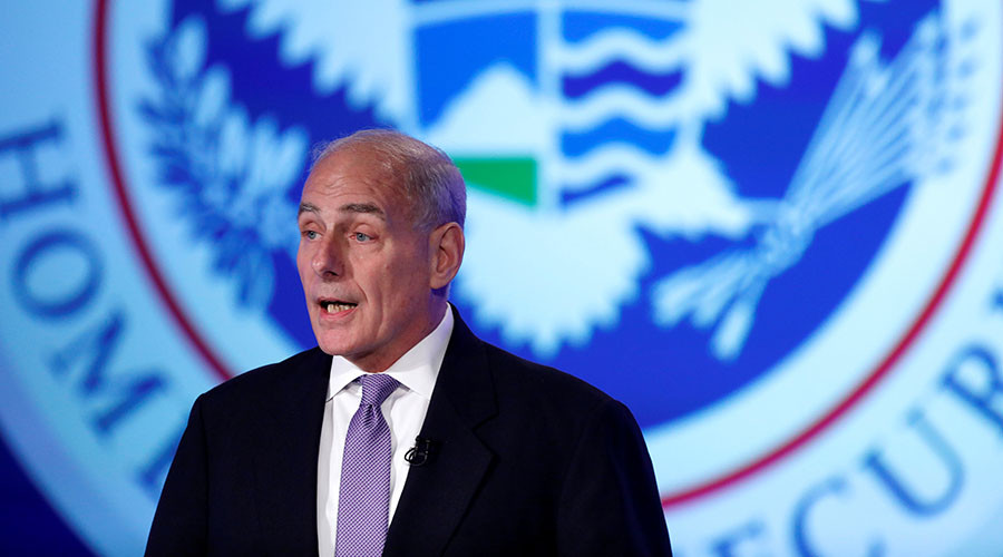 DHS chief tells Congress critics to 'shut up' or change immigration laws