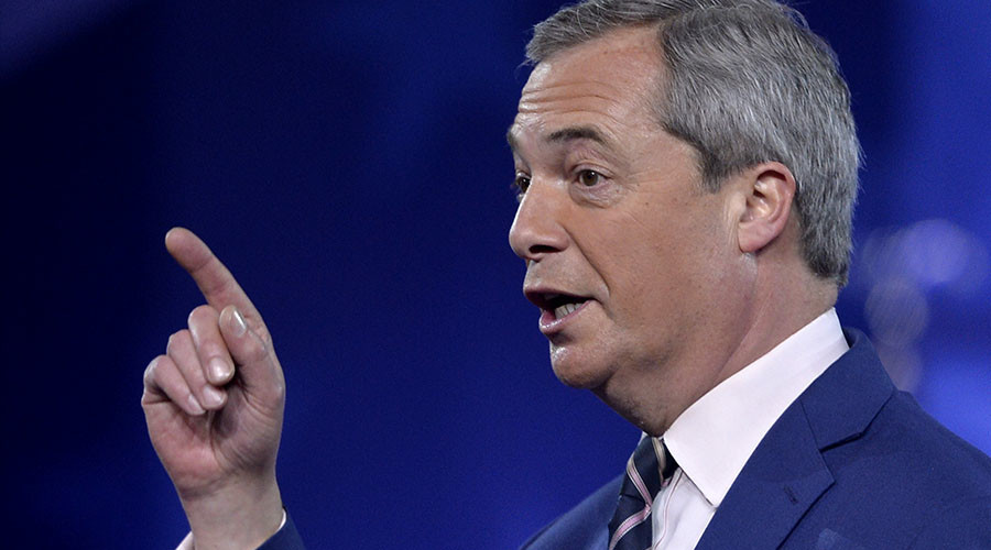 'Genuinely scared': Farage says May's snap election tactic is to dodge party expenses scandal