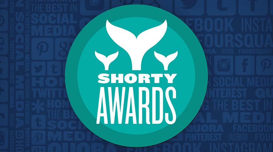 RT captures 5 Shorty Awards for social media, video app & news coverage