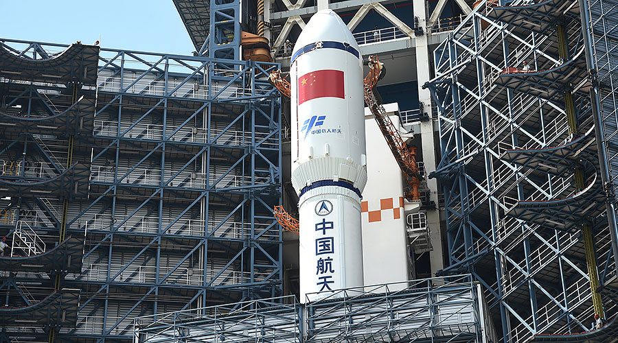 China's cargo spacecraft docks with orbital laboratory for 1st time