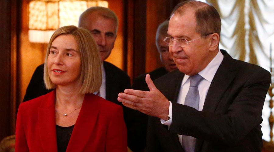 EU-Russia 'strategic partnership' desired but surreal amid sanctions – Mogherini after Lavrov talks