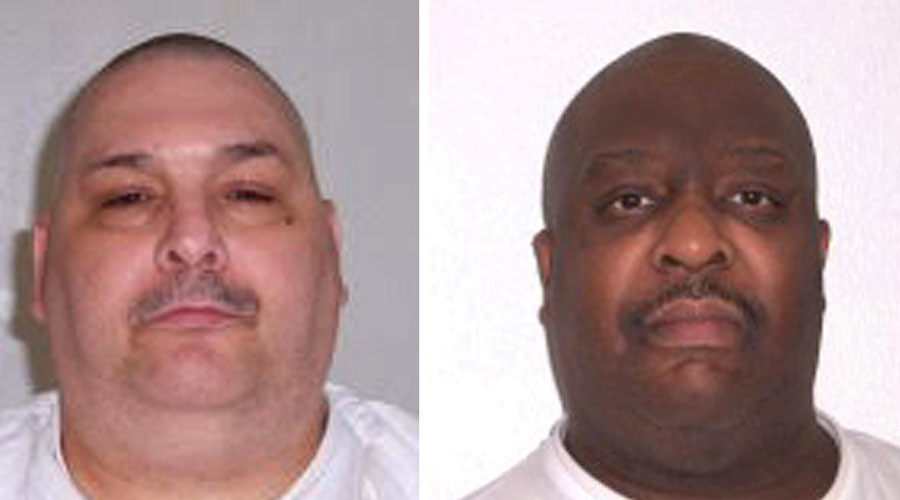 Arkansas double-execution the first in US since 2000