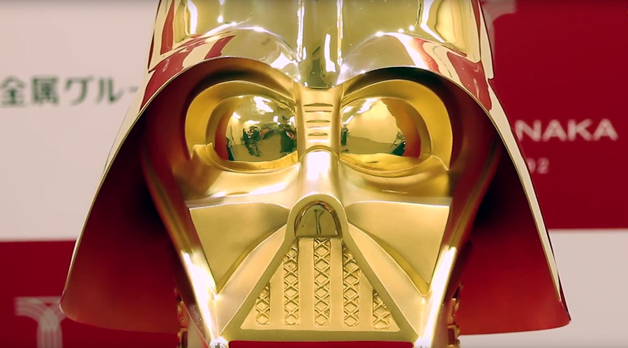 Return of the jewelry: Darth Vader gold mask has staggering asking price of $1.4mn (PHOTOS, VIDEO)