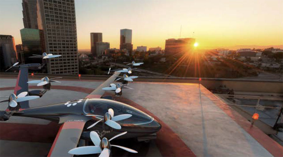 High-flying Uber announces plans to have 'air taxis' in the sky by 2020