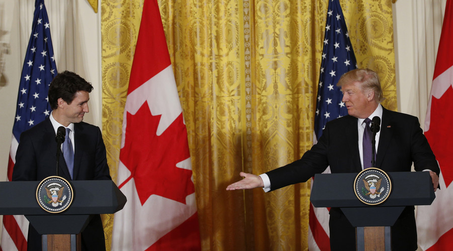 Trump wants to renegotiate trade deal with Canada & Mexico, not terminate NAFTA for now