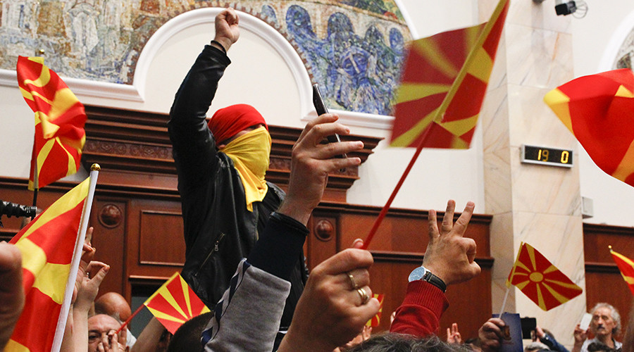2017 storming of Macedonian Parliament