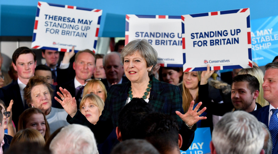 Is Theresa May hiding from voters on election trail?