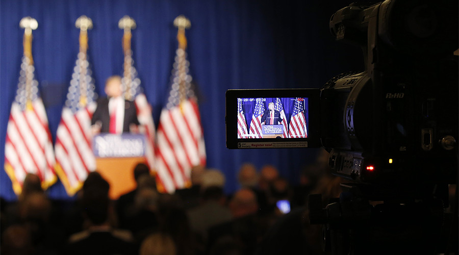 'The media will tank if I'm not there,' so they have to let me win again – Trump