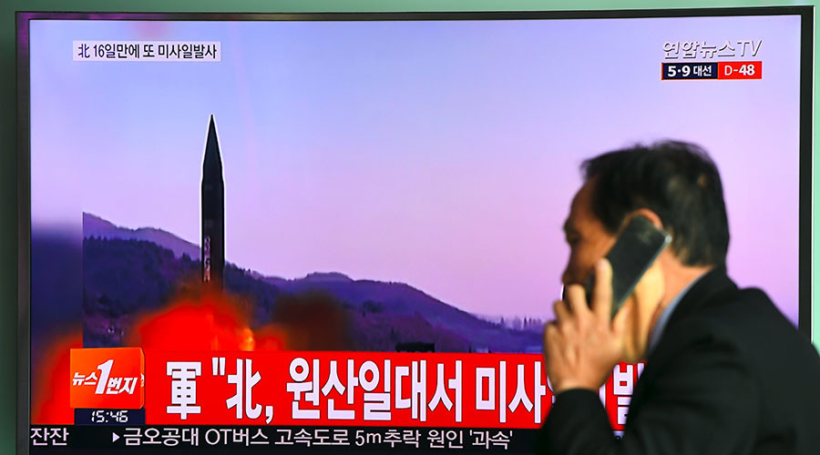 N. Korean ballistic missile fails minutes after launch – S. Korean & US militaries