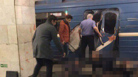 11 killed, over 50 injured in St. Petersburg Metro blast (GRAPHIC IMAGES)