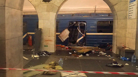 First dramatic videos reveal immediate aftermath of St. Petersburg Metro blast (VIDEOS, PHOTOS)
