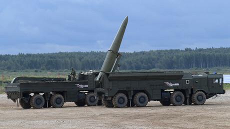 FILE PHOTO. An Iskander-M missile system. ©Grigoriy Sisoev