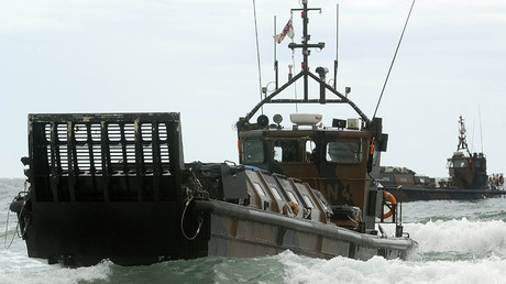 Royal Marines Landing Craft Vehicle Personnel (LCVP) Mk5. © POA(Phot) Sean Clee / MOD