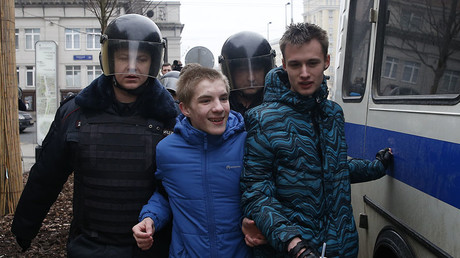 Pitting minors against police 'almost a crime' – PM Medvedev on anti-corruption protests
