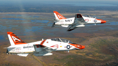 Two T-45C Goshawk jets © Wikipedia