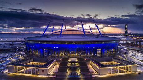 Russia, St. Petersburg, Krestovsky Island. Stadium 'St. Petersburg' © Ruslan Shamukov