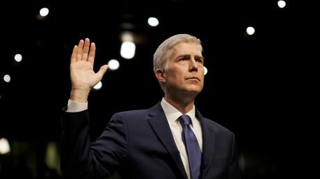 U.S. Supreme Court nominee judge Neil Gorsuch © James Lawler Duggan