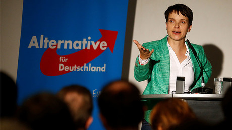 Frauke Petry, chairwoman of the anti-immigration party Alternative for Germany (AfD) © Axel Schmidt