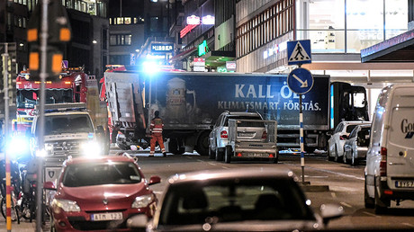 The Stockholm truck attack suspect appeared in 'security information' before – police