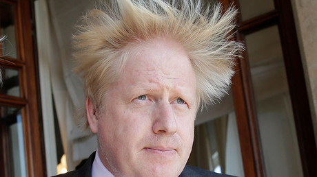 Britain's Foreign Secretary Boris Johnson. © Max Rossi