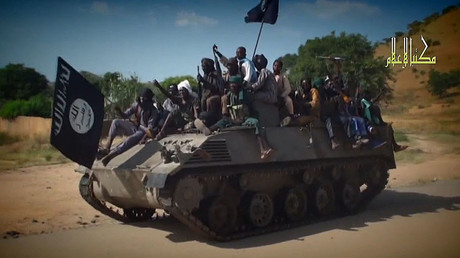 Boko Haram fighters. © AFP