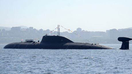 File photo: An Akula-class submarine, Vladivostok, Russia. © Yuri Maltsev