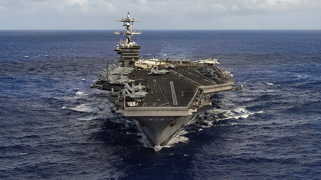 FILE PHOTO: The aircraft carrier USS Carl Vinson. © U.S. Navy Photo