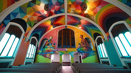 The church plan to open their doors on April 20. © The International Church of Cannabis