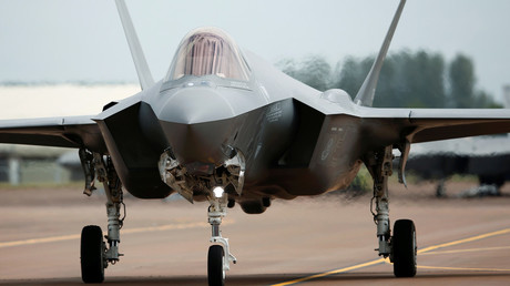 A Lockheed Martin F-35A fighter jet © Peter Nicholls