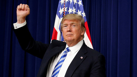 U.S. President Donald Trump © Kevin Lamarque