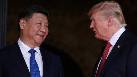 US President Donald Trump (R) and Chinese President Xi Jinping © Carlos Barria