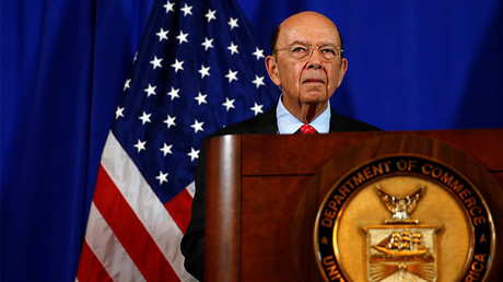 U.S. Commerce Secretary Wilbur Ross holds a news conference, Washington, D.C., U.S. March 10, 2017. © Eric Thayer